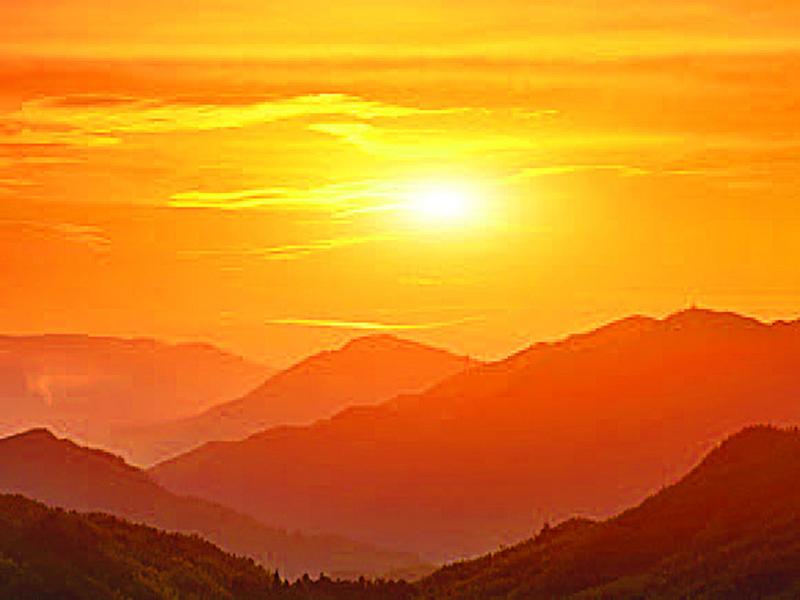 陪伴太陽升起的人