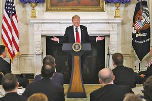 特朗普:正確條件下才會與北韓對話