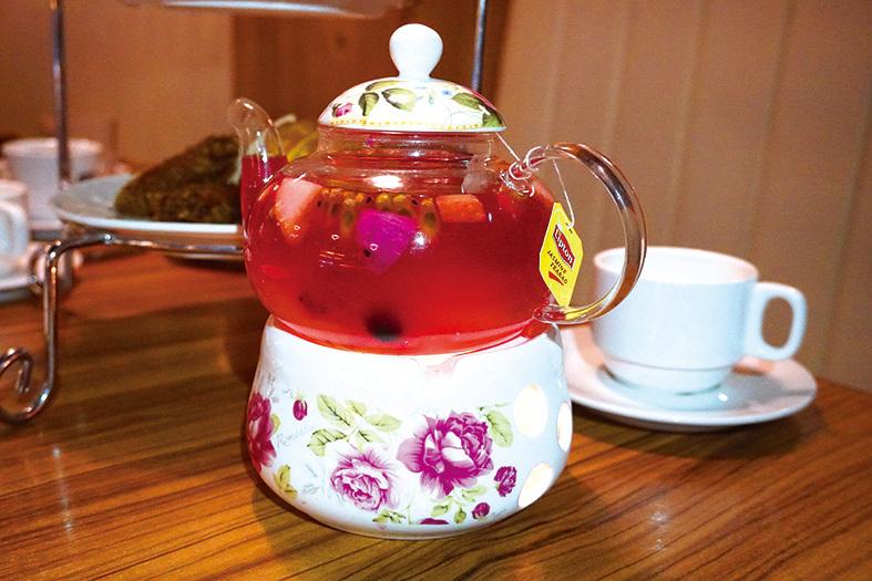新鮮水果茶