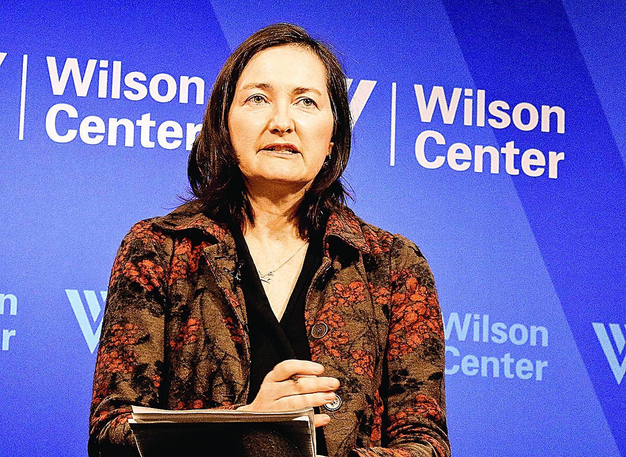 圖為坎特伯雷大學的中國事務專家Anne-Marie Brady教授。(Gary Feuerberg/ Epoch Times)
