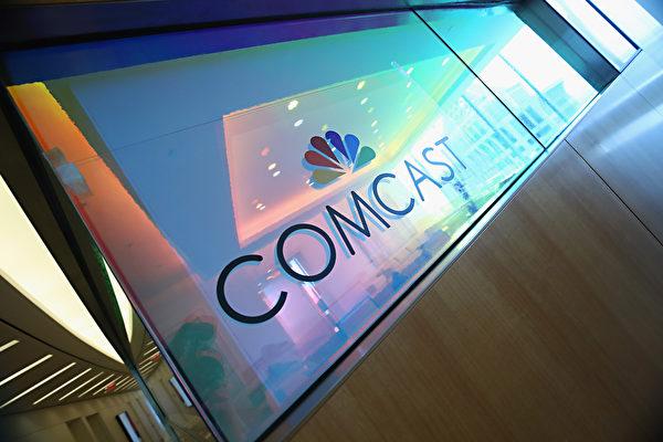 2月27日,美國最大電視營運商康卡斯特(Comcast)表示,計劃以310億美元收購歐洲最大付費電視集團Sky,這被視為對默多克的挑戰。(Cindy Ord/Getty Images for Comcast)