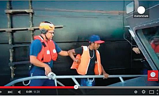 哥倫比亞水手海上漂流2個月 奇蹟生還