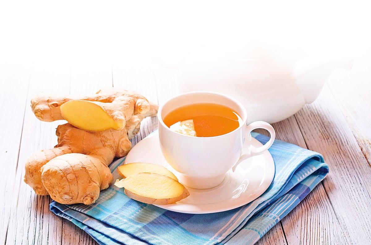 薑除了用來調味、暖和身體,也是常見的藥用植物。