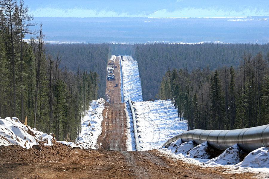 圖為「西伯利亞力量」天然氣管道。(「西伯利亞力量」官方網站)