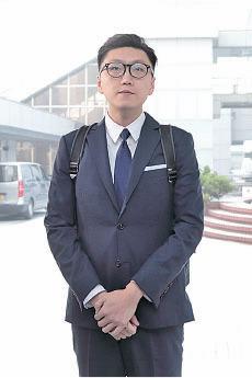 香港民主前線發言人梁天琦被控四罪,一般預料他會被判7年至9年。(蔡雯文/大紀元)