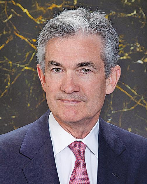 新上任的美聯儲主席鮑威爾。(維基百科)