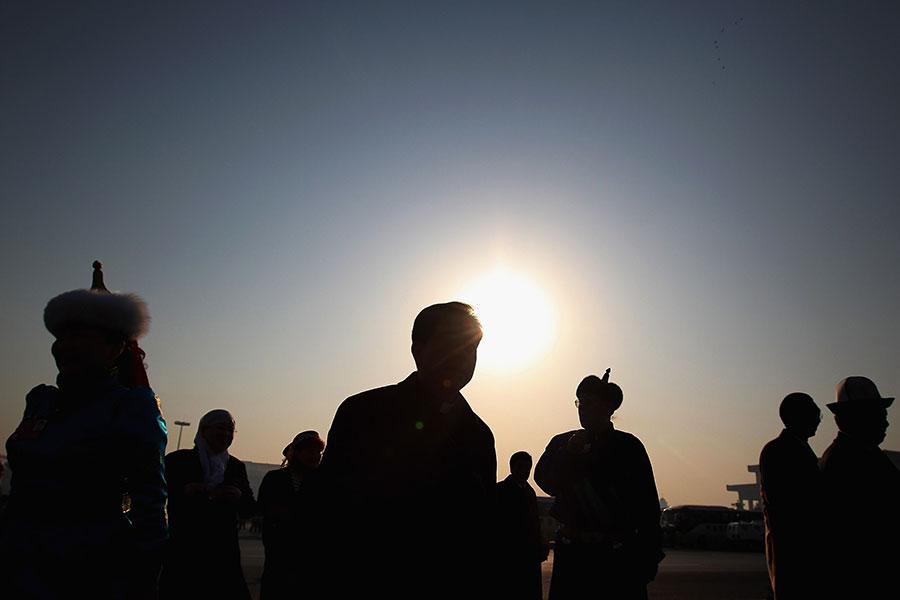 美國之音報道說,在今年的人大代表和政協委員中,有153人的財富超過了20億元人民幣。(Feng Li/Getty Images)