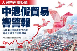 中港假貿易響警報