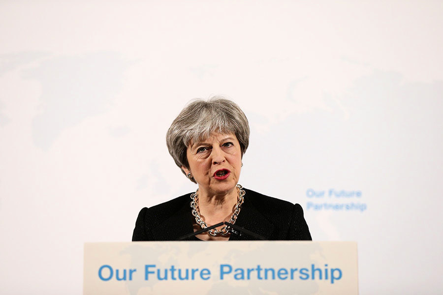 英國首相重要脫歐演講 歐盟冷淡回應
