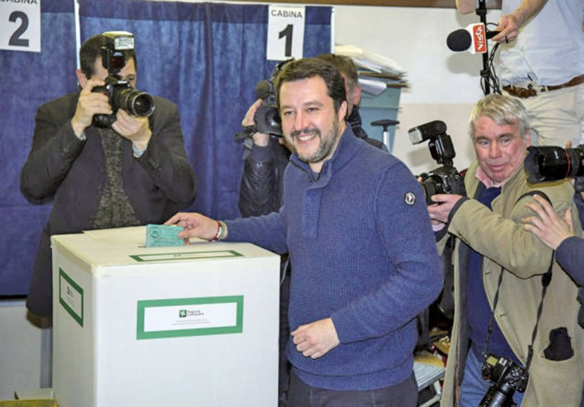 意大利國會大選 五星運動竄升最大單一政黨
