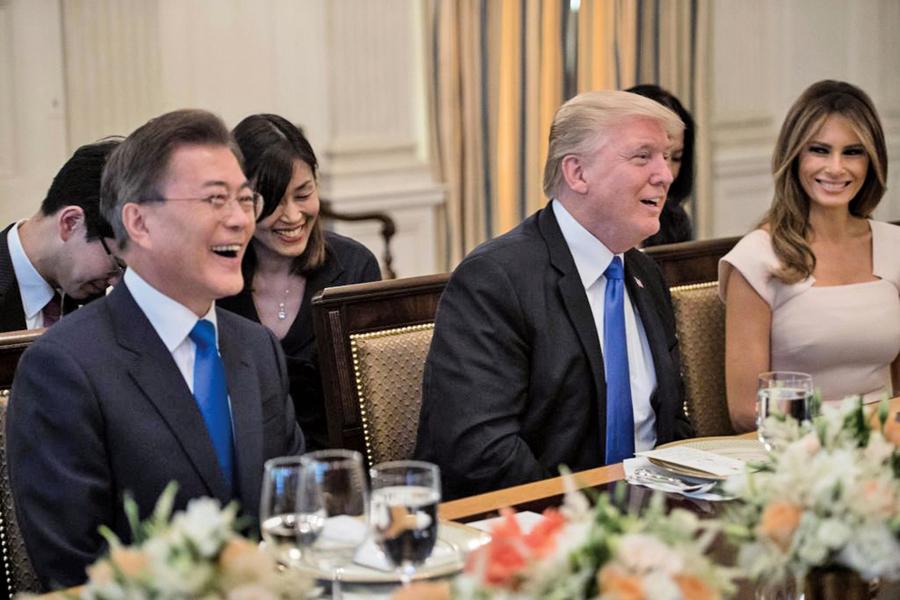 特朗普提「無核化」對話條件 南韓即派遣特使團訪北韓