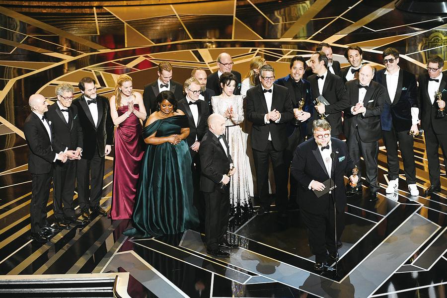 第90屆奧斯卡大贏家《忘形水》拿4獎 加利奧文稱帝 法蘭絲麥杜文封后