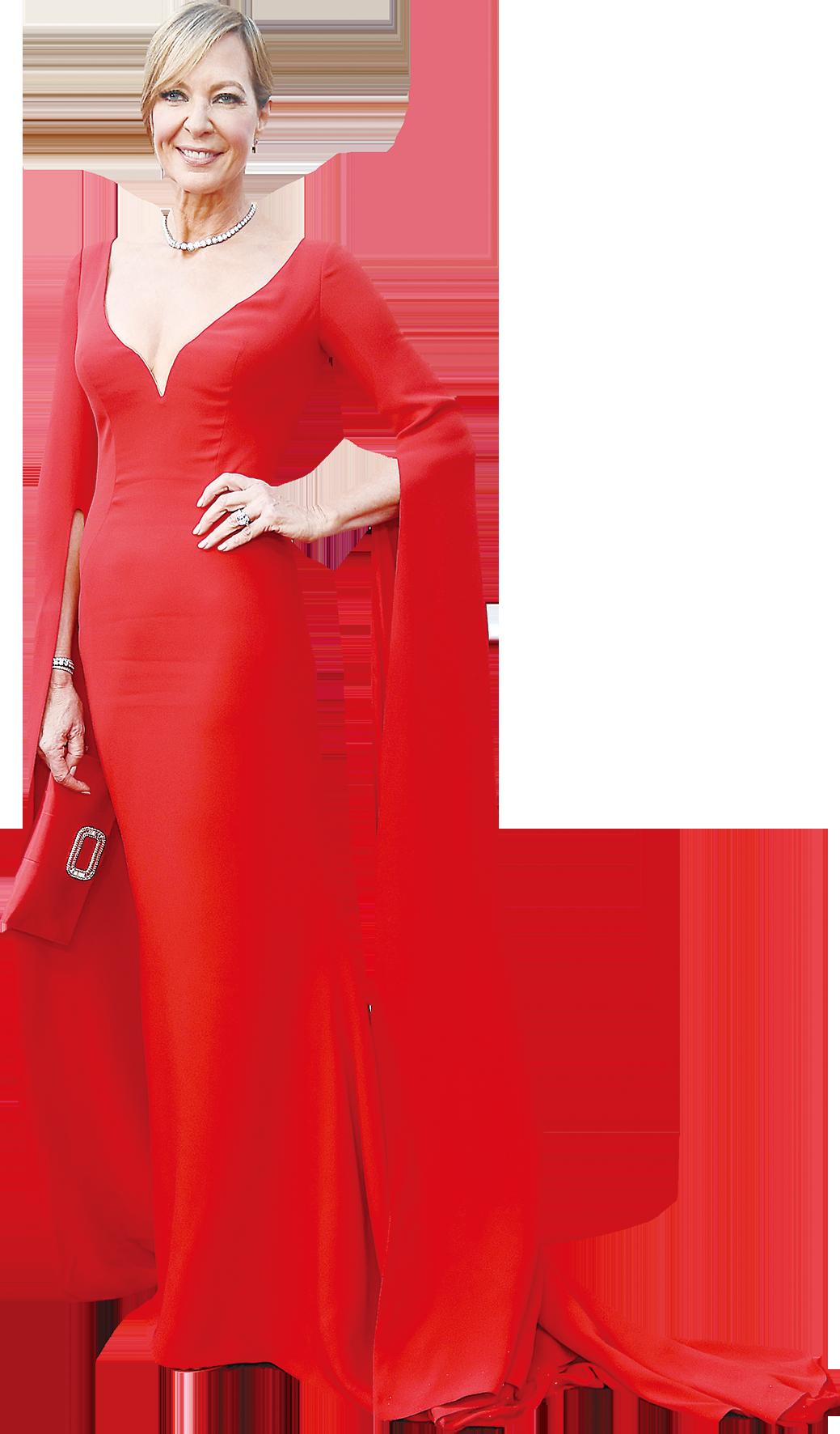 《冰之驕女》:愛麗遜珍妮(Allison Janney)獲最佳女配角。(Getty Images)