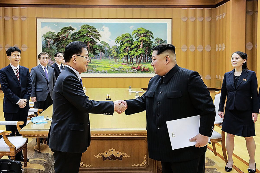 南韓特使訪問北韓 如何與青瓦台秘密溝通?