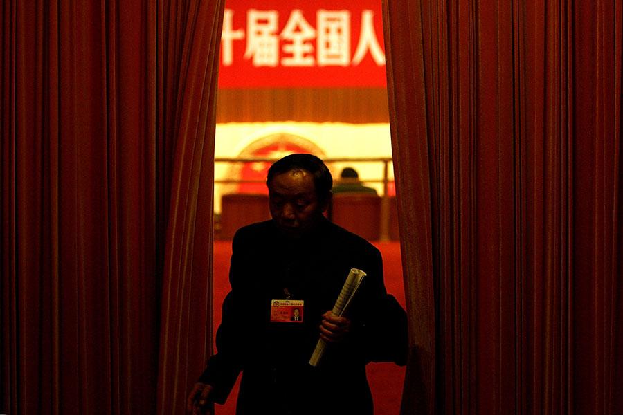 中共十三屆全國人大一次會議於3月5日召開,國務院總理李克強在2018年政府工作報告中繼續強化「中國製造2025」產業政策再引外界擔憂。(Guang Niu/Getty Images)