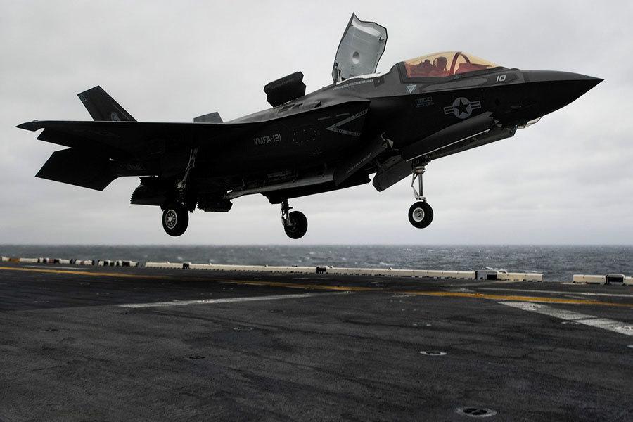美F-35B首次部署於印太戰艦 震懾中共北韓