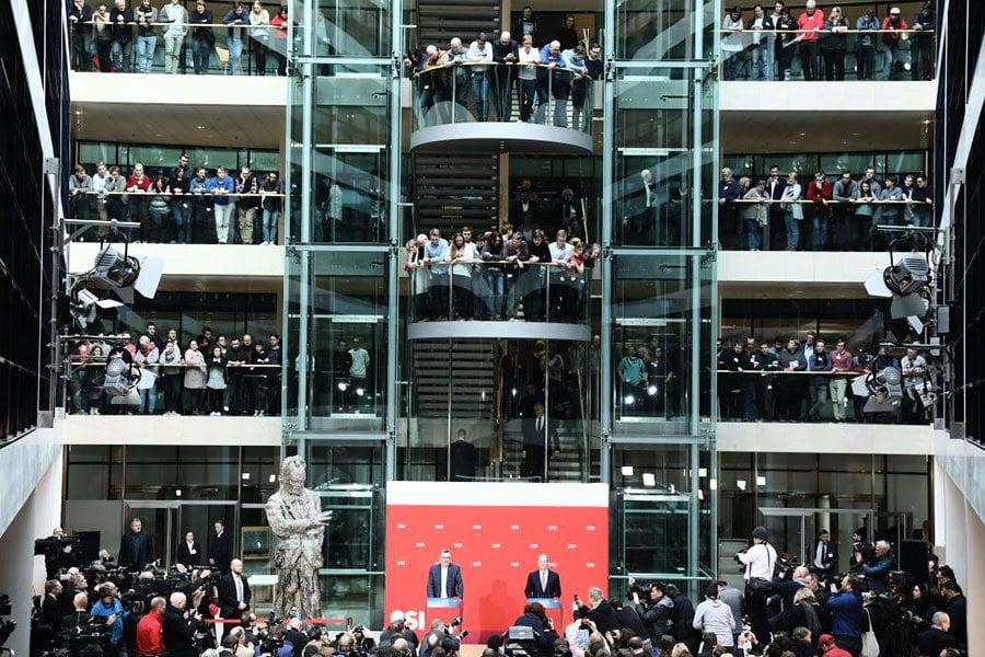 德半年政治僵局結束 默克爾即將四連任
