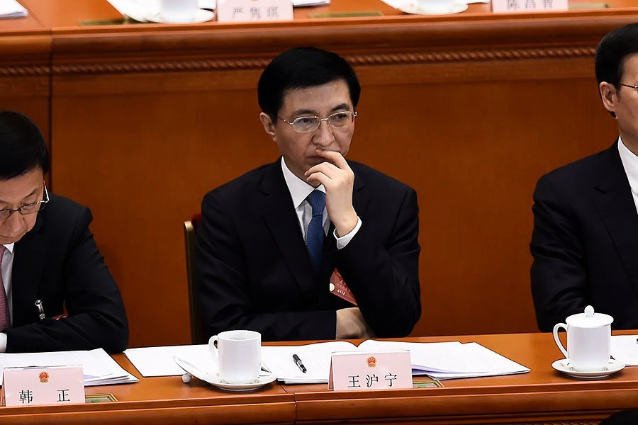 崔士方:王滬寧成最弱小常務書記