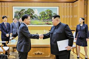 北韓願討論棄核及與美韓對話