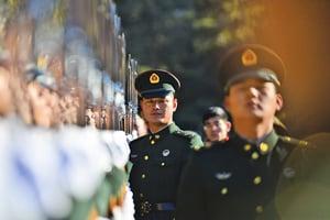 中共國防預算大增8.1%引憂