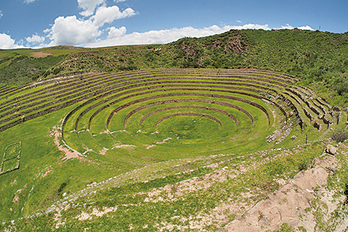 秘魯Moray梯田。(受訪者提供)