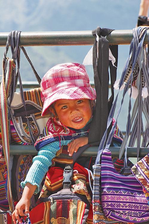 秘魯女孩。(受訪者提供)