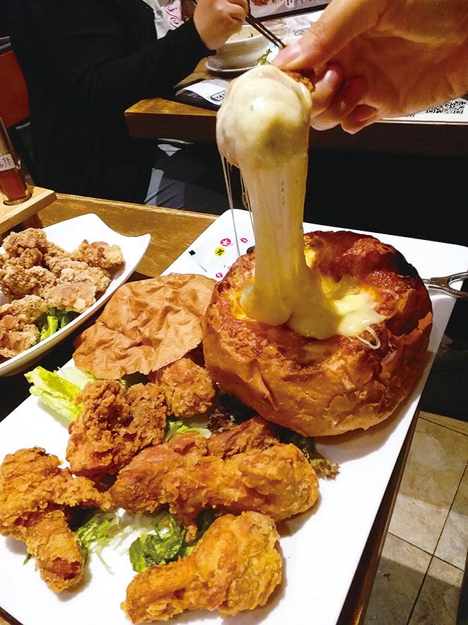 熔岩芝士雞