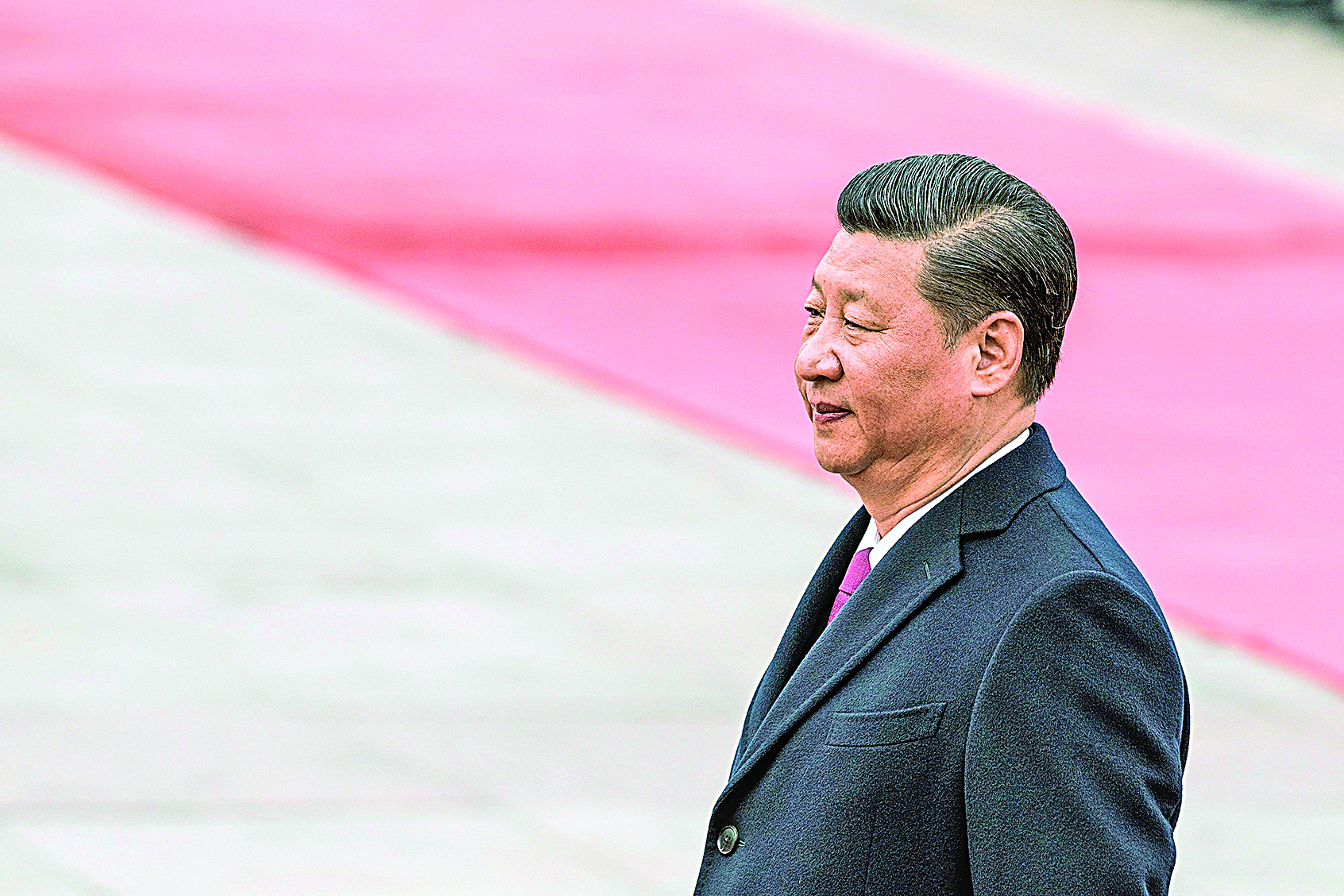 中共近日宣佈將修憲取消國家主席任期。(FRED DUFOUR/AFP/Getty Images)
