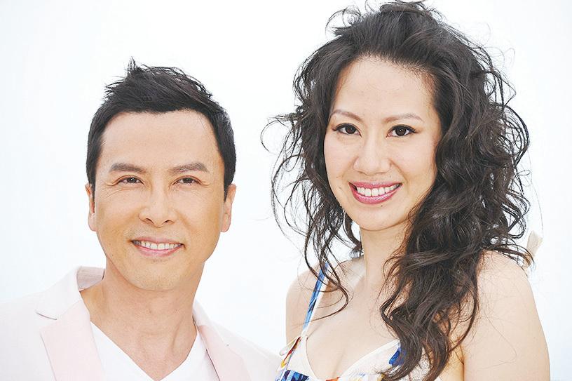 甄子丹和太太在一起日日都是情人節。(Andreas Rentz ╱大紀元資料照片)