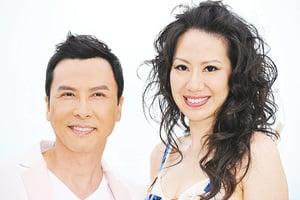 甄子丹和太太日日都是情人節  努力製造浪漫