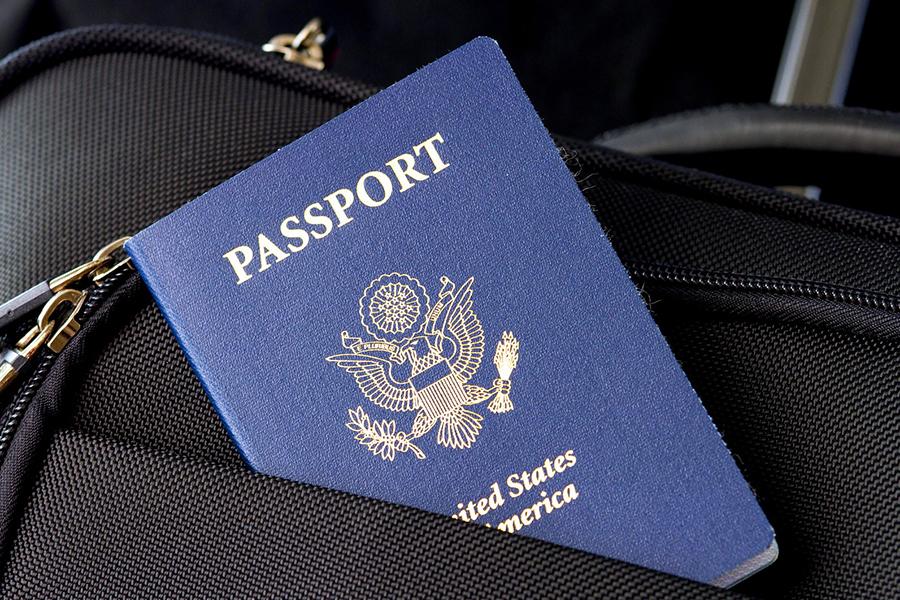 使用藍色護照的國家被認為是由於地理原因。(Pixabay)