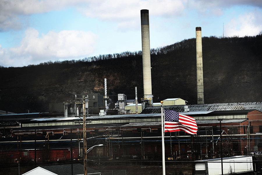 特朗普擬徵鋼鋁材關稅 美國鋼鐵公司重開工廠