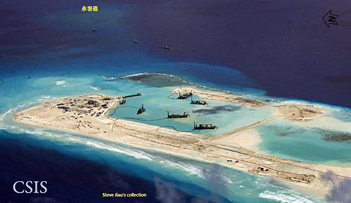 挑戰陸越權主張 美艦入永暑礁12浬