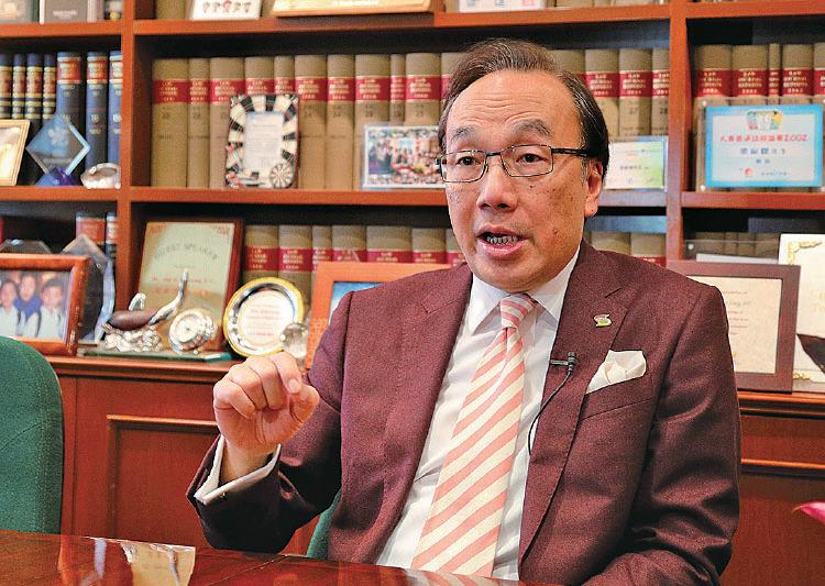 公民黨主席、前大律師公會主席梁家傑(大紀元資料圖片)