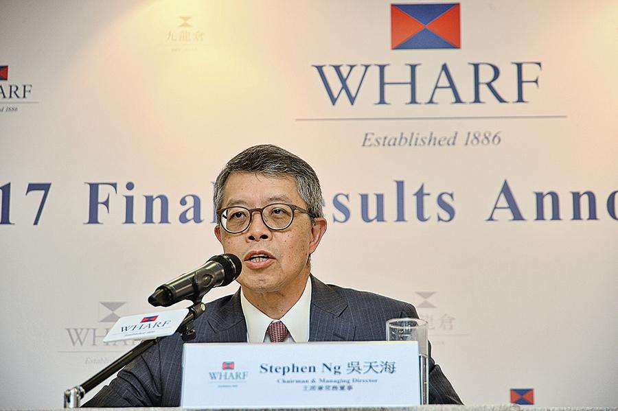 九倉去年全年純利218億元 按年升2%