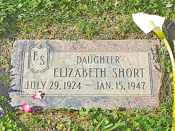 伊麗莎白.肖特之墓。(維基百科)