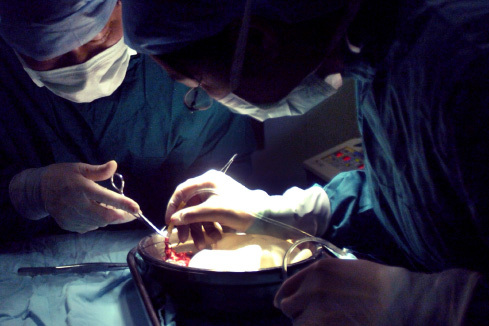 早前有法輪功學員致電廣東省江門市中心醫院心臟移植科,接電話醫生承認該醫院活摘法輪功學員的數量「多的是」,「數不勝數」。(大紀元資料圖片)
