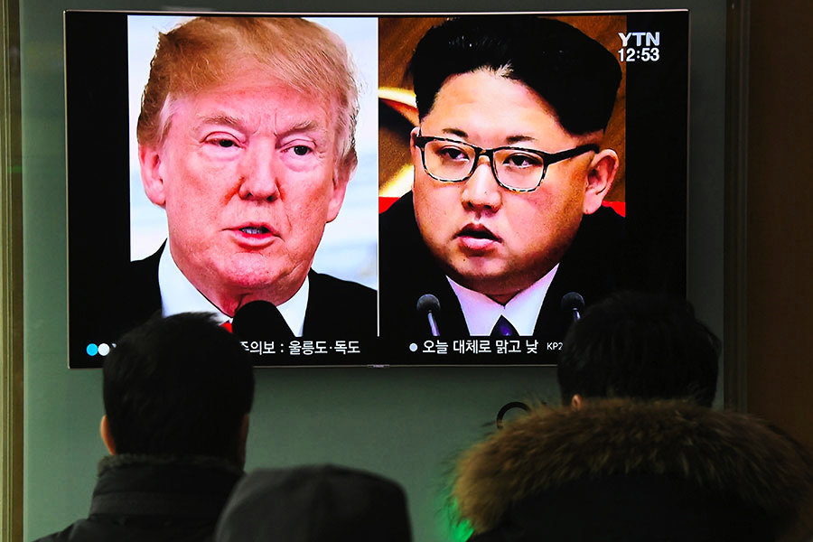 韓媒:韓特使傳金正恩「特別口信」給特朗普