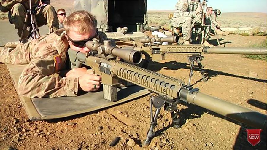 美陸軍擬換新型狙擊步槍 更精準射程更遠