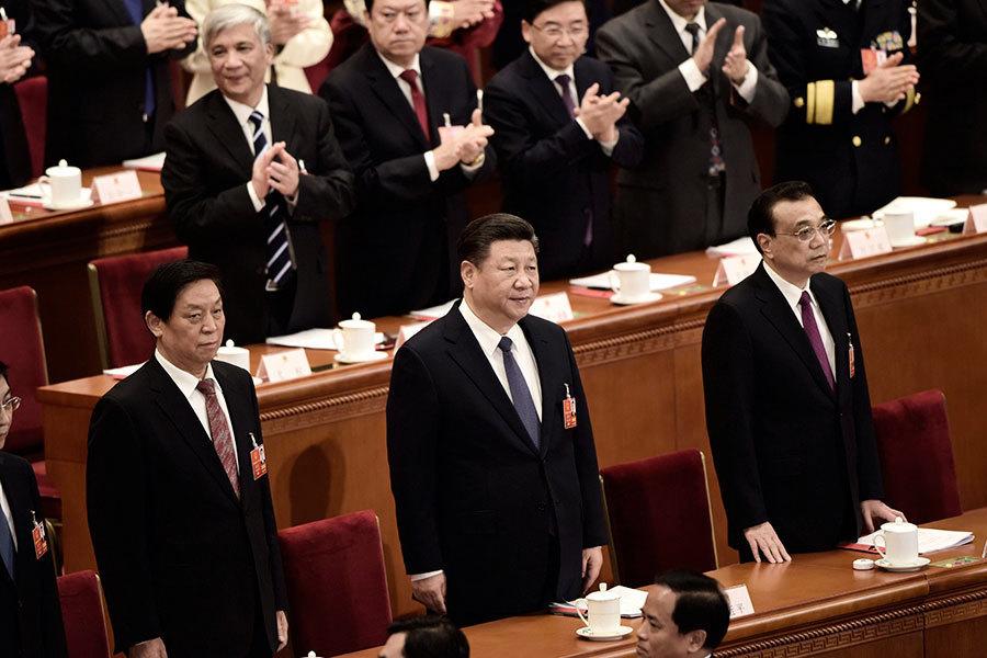 中共通過修憲 取消國家主席連任限制