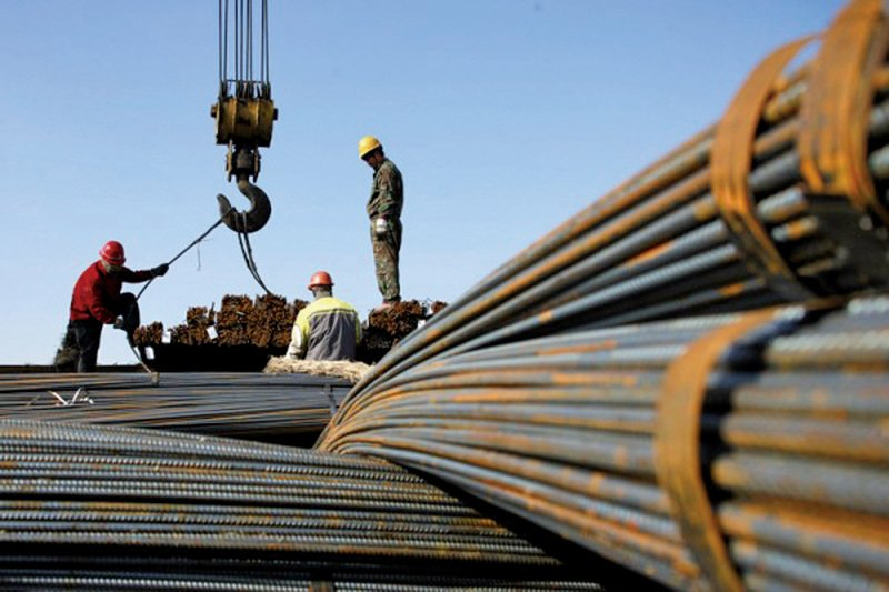 中國螺紋鋼期貨 創7年盤中最大跌幅