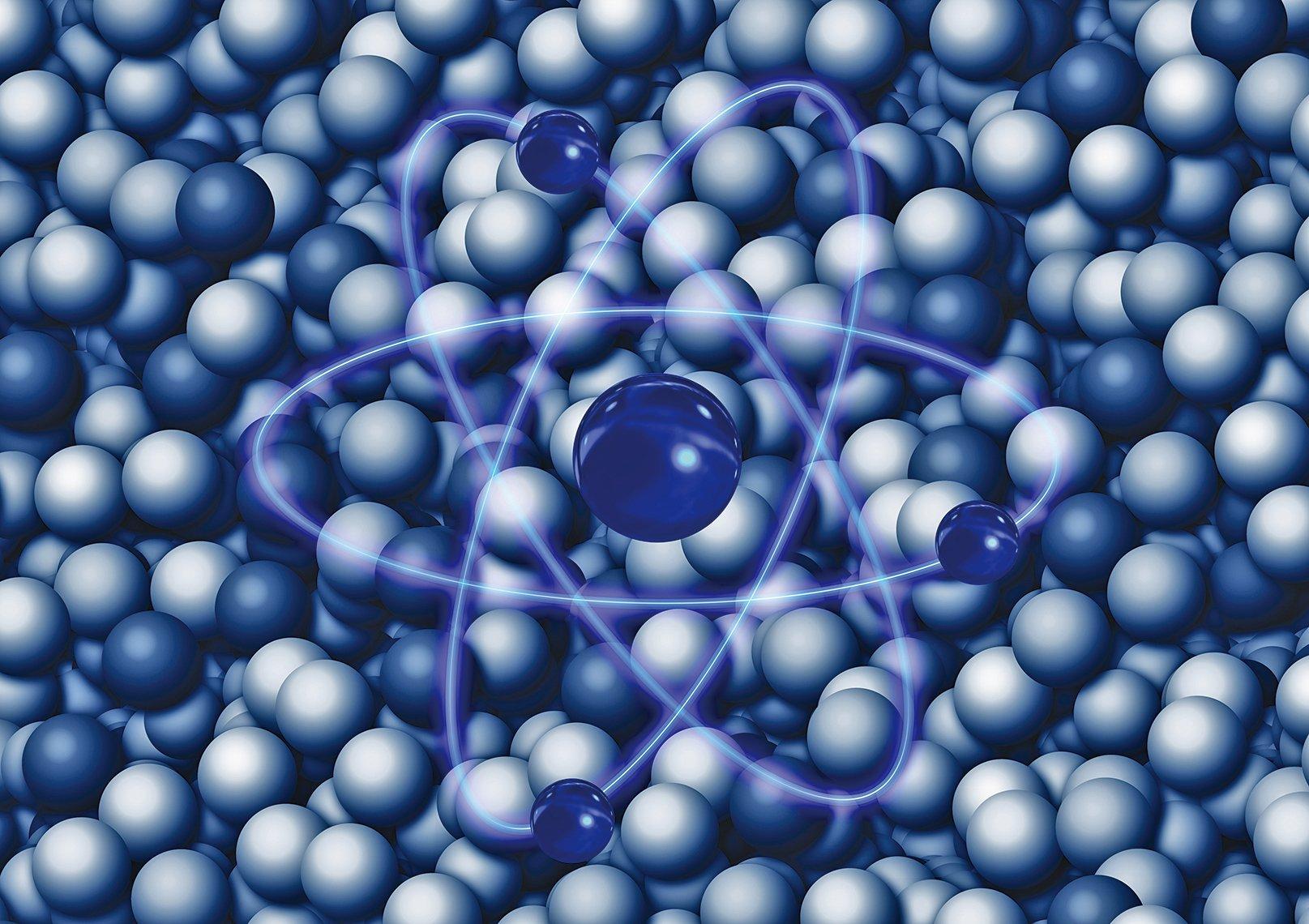 構成原子的電子和原子核之間是有間隙的,而且這個間隙與電子和原子核本身相比,也是一個無比巨大的空間。