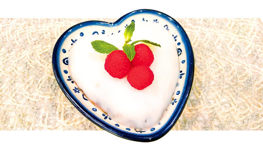 【梁廚美食】淮山紅豆糕