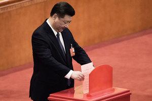 中共修憲兩票反對者身份惹議 目的不純
