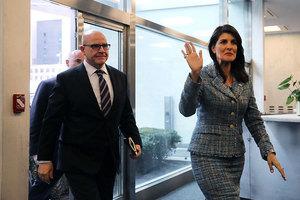 美國安顧問:安理會支持特朗普 持續對朝施壓
