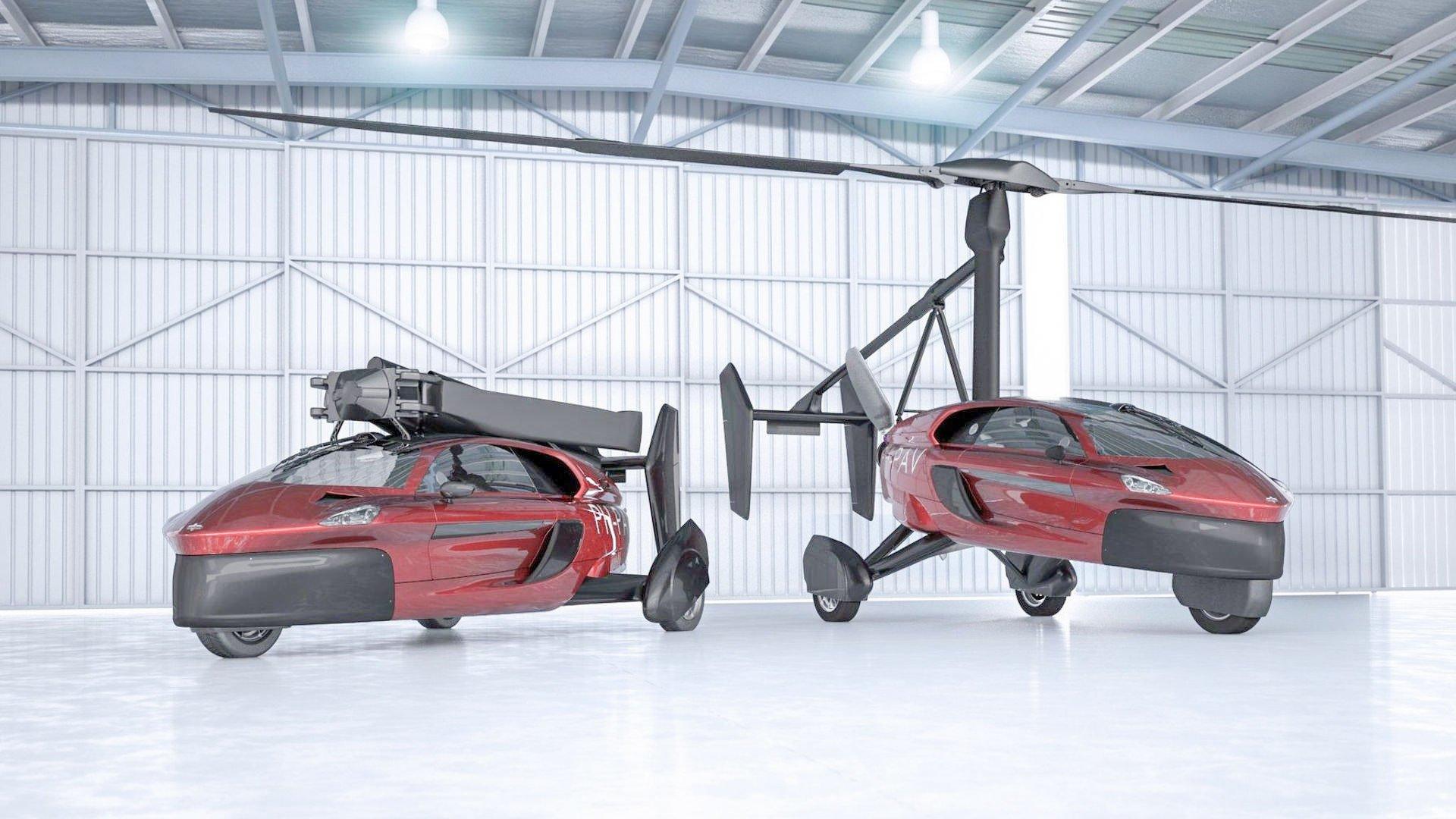 荷蘭PAL-V公司研發的飛行汽車Liberty將量產,預計2019年交貨。(PAL-V)