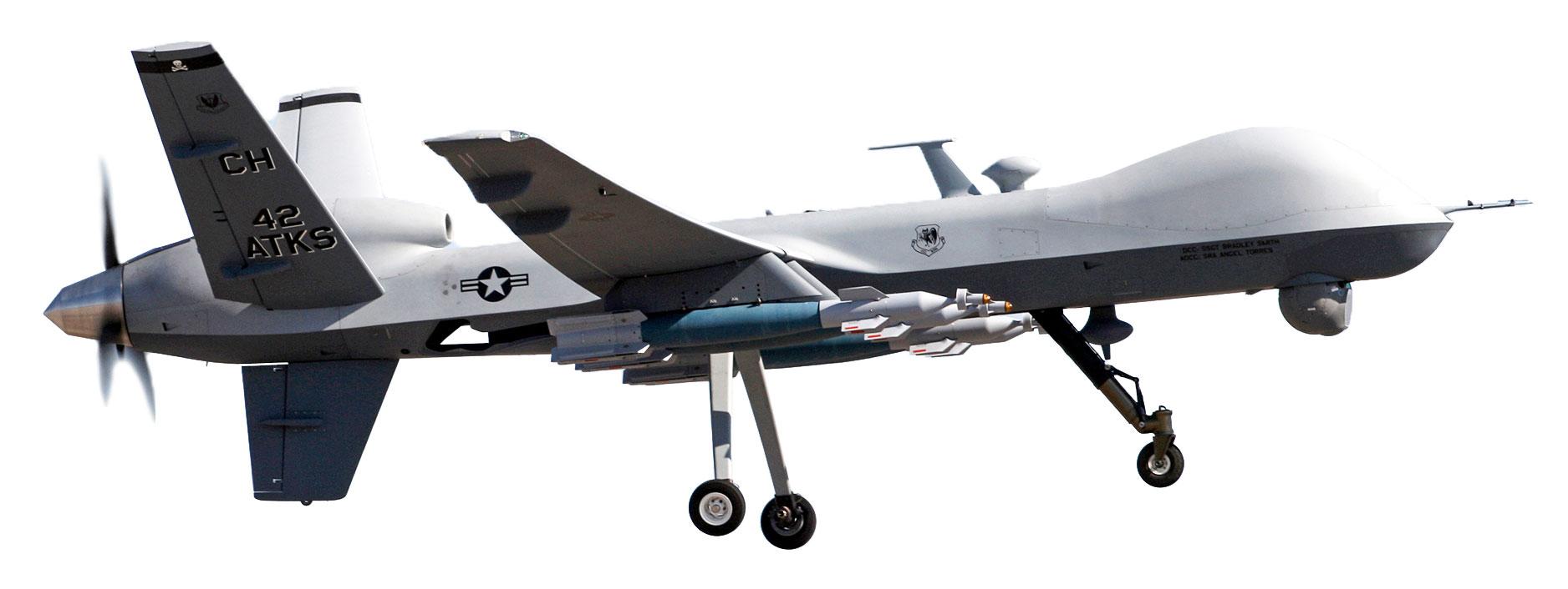 美國軍方將谷歌人工智能技術用於無人機。圖為MQ-9美軍收割者無人攻擊機。(U.S. Air Force/Paul Ridgeway/維基百科)