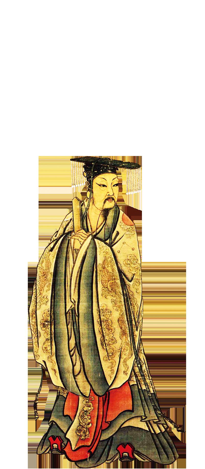 南宋畫家馬麟所作的大禹畫像。(公共領域)
