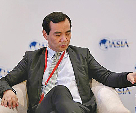 肖建華獄中咬出大量金融「老虎」,安邦集團董事長吳小暉為其一。(大紀元資料室)