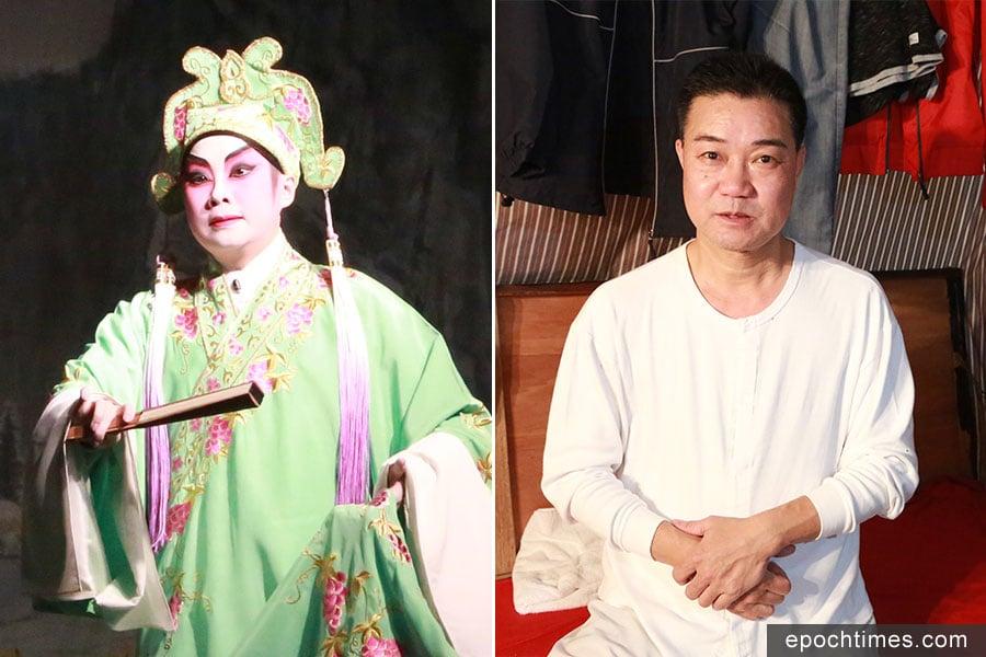 神功戲演員、八和會館理事溫玉瑜。(陳仲明/大紀元)